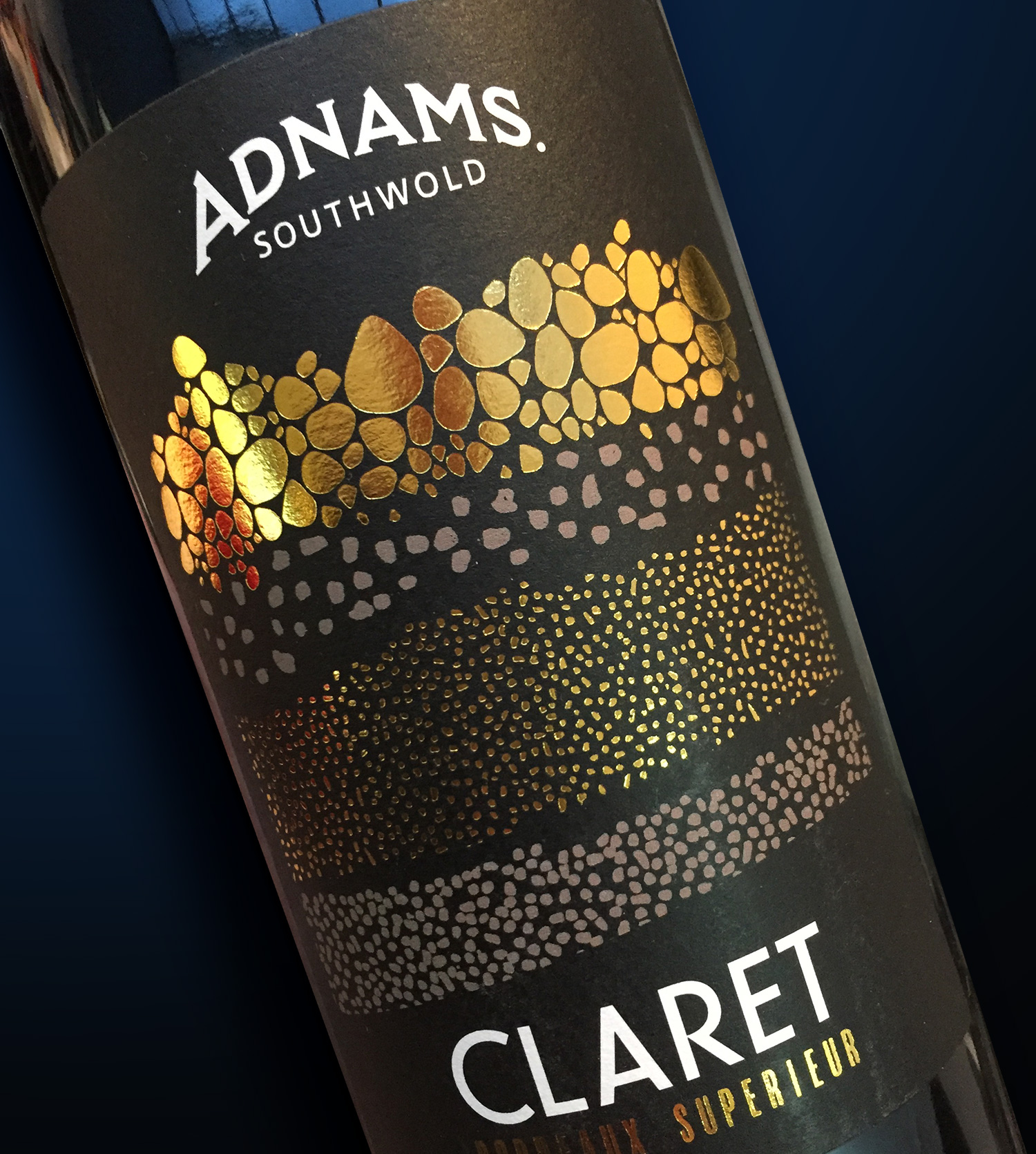 Adnams wine label claret