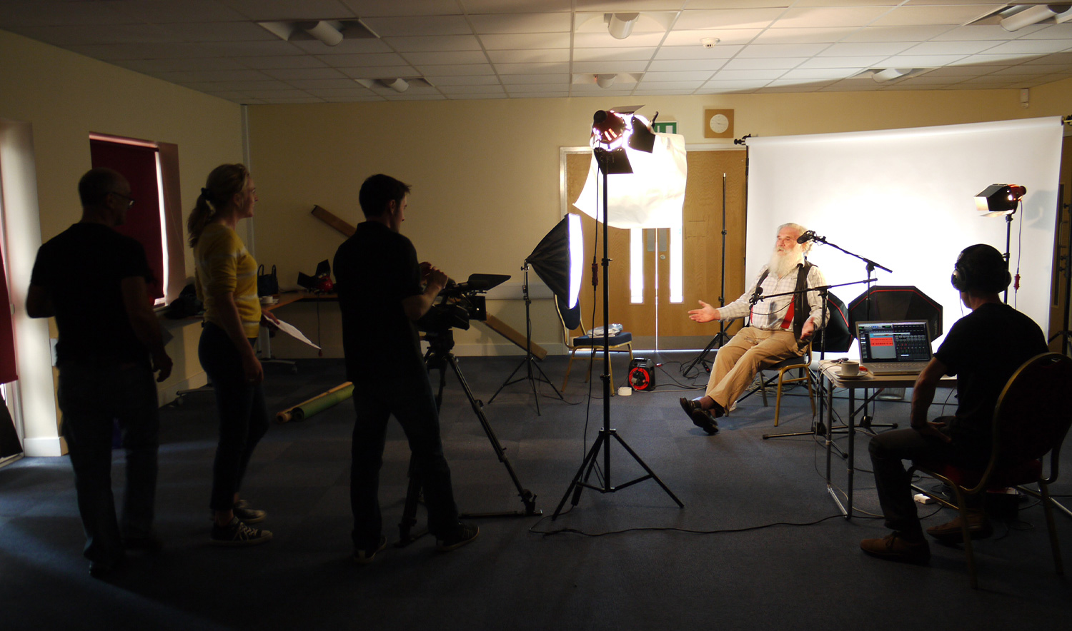 Age UK Suffolk Campaign filming