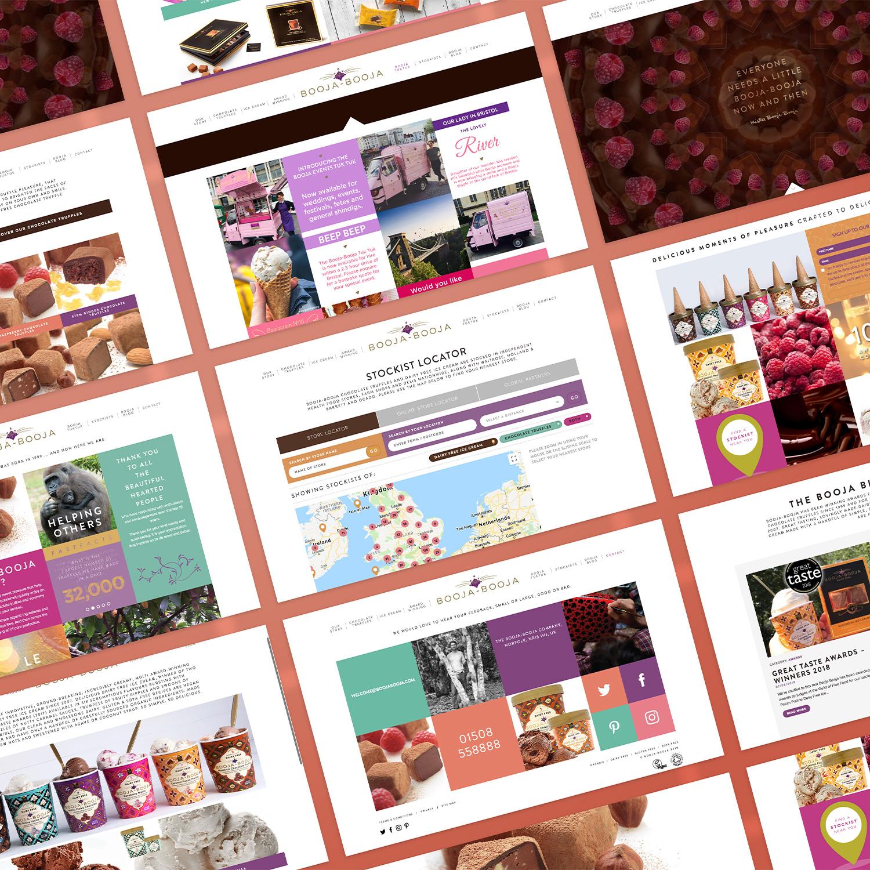 Booja-Booja webpage