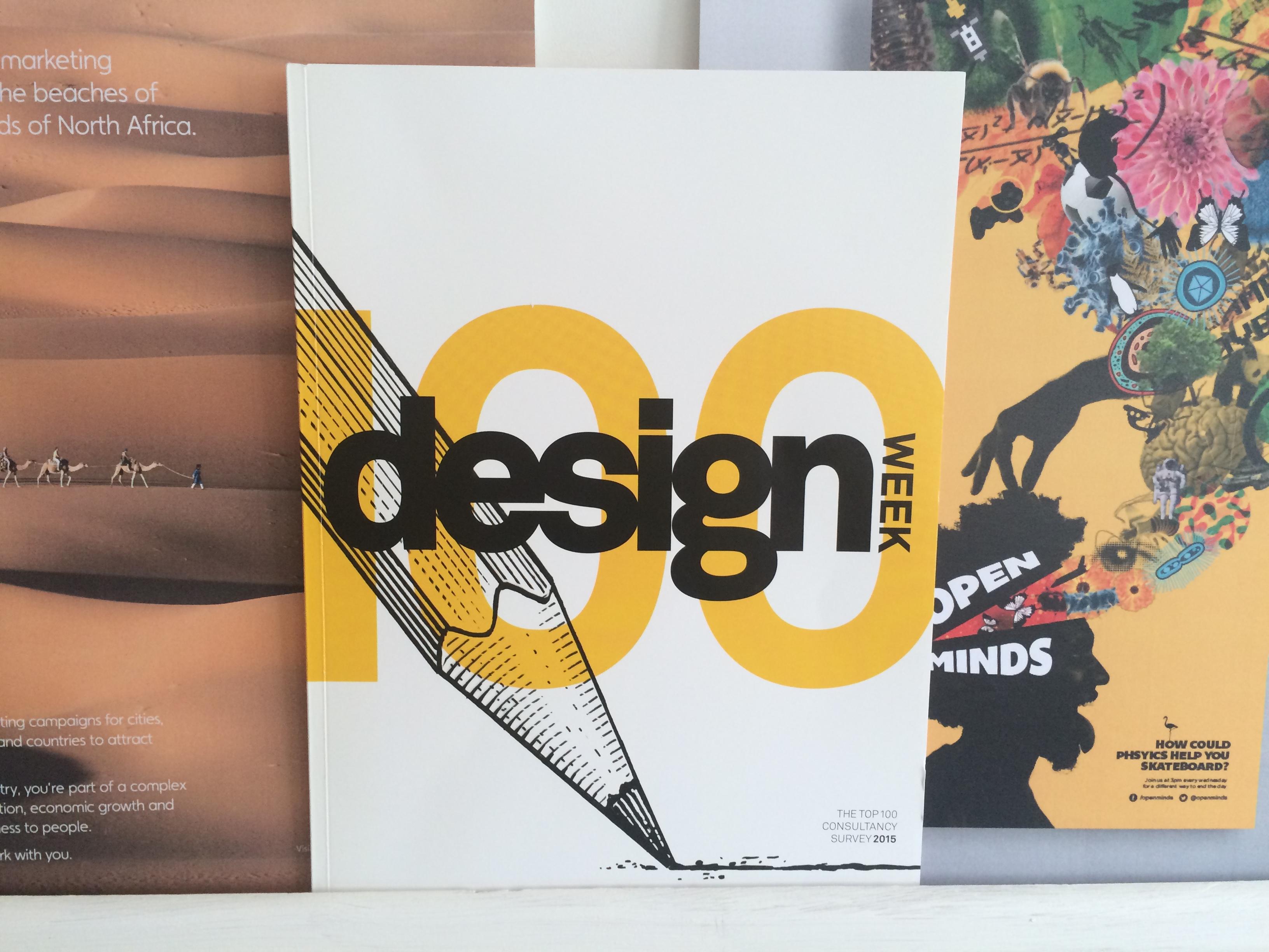 Design Week Top 100 2015
