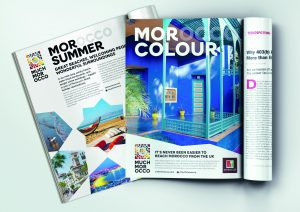 An integrated brand campaign, including advertising across a wide variety of print media, has been created to bring Destination Morocco to the forefront of holidaymakers in the UK