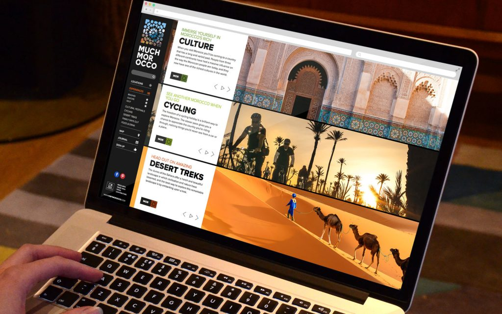 Much Morocco website