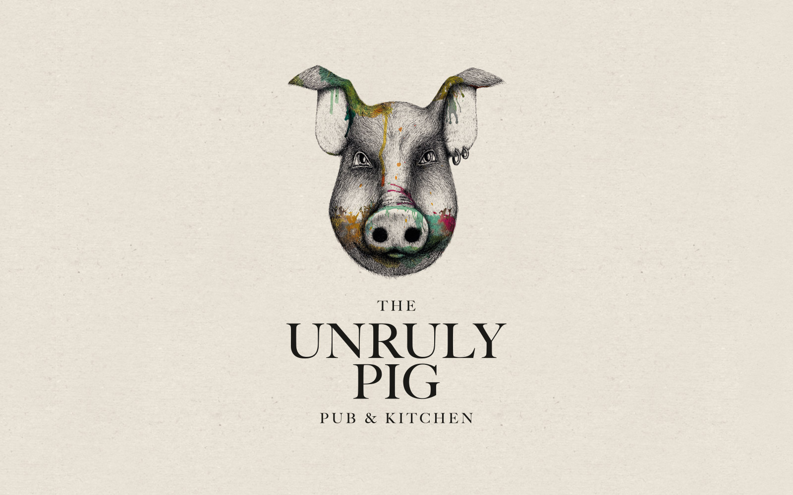 The Unruly Pig logo