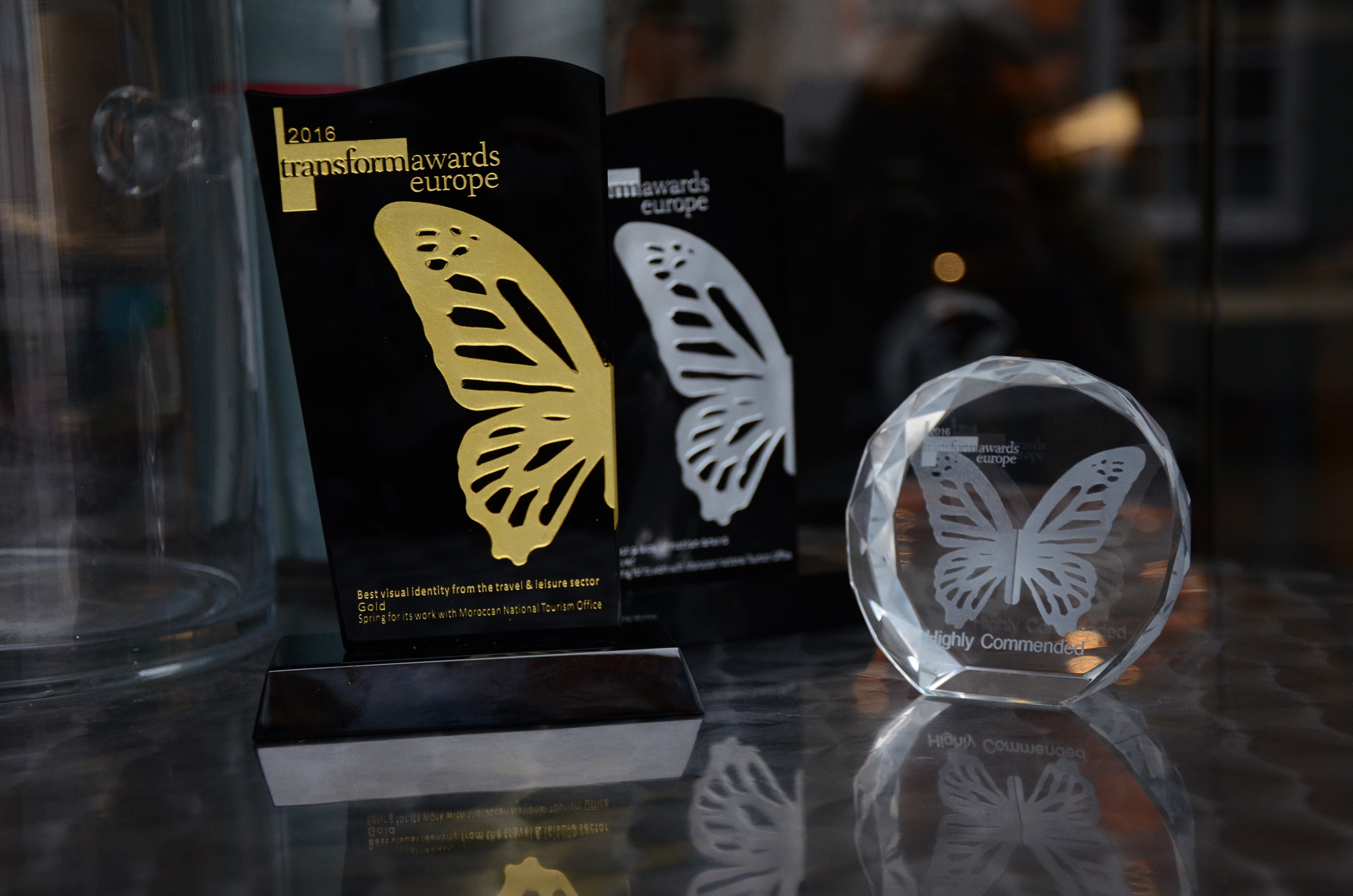 Three awards for the MuchMorocco campaign at the 2016 Transform Awards