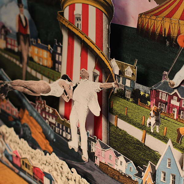 circus hassani close up of the living poster