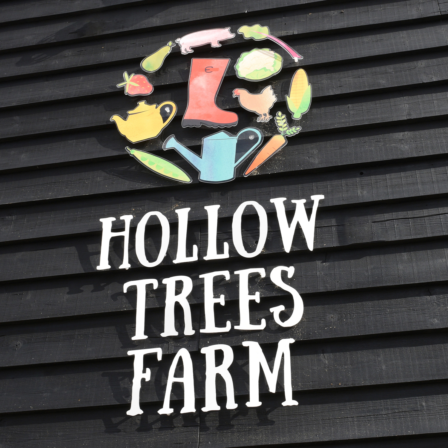 Hollow Trees external sign