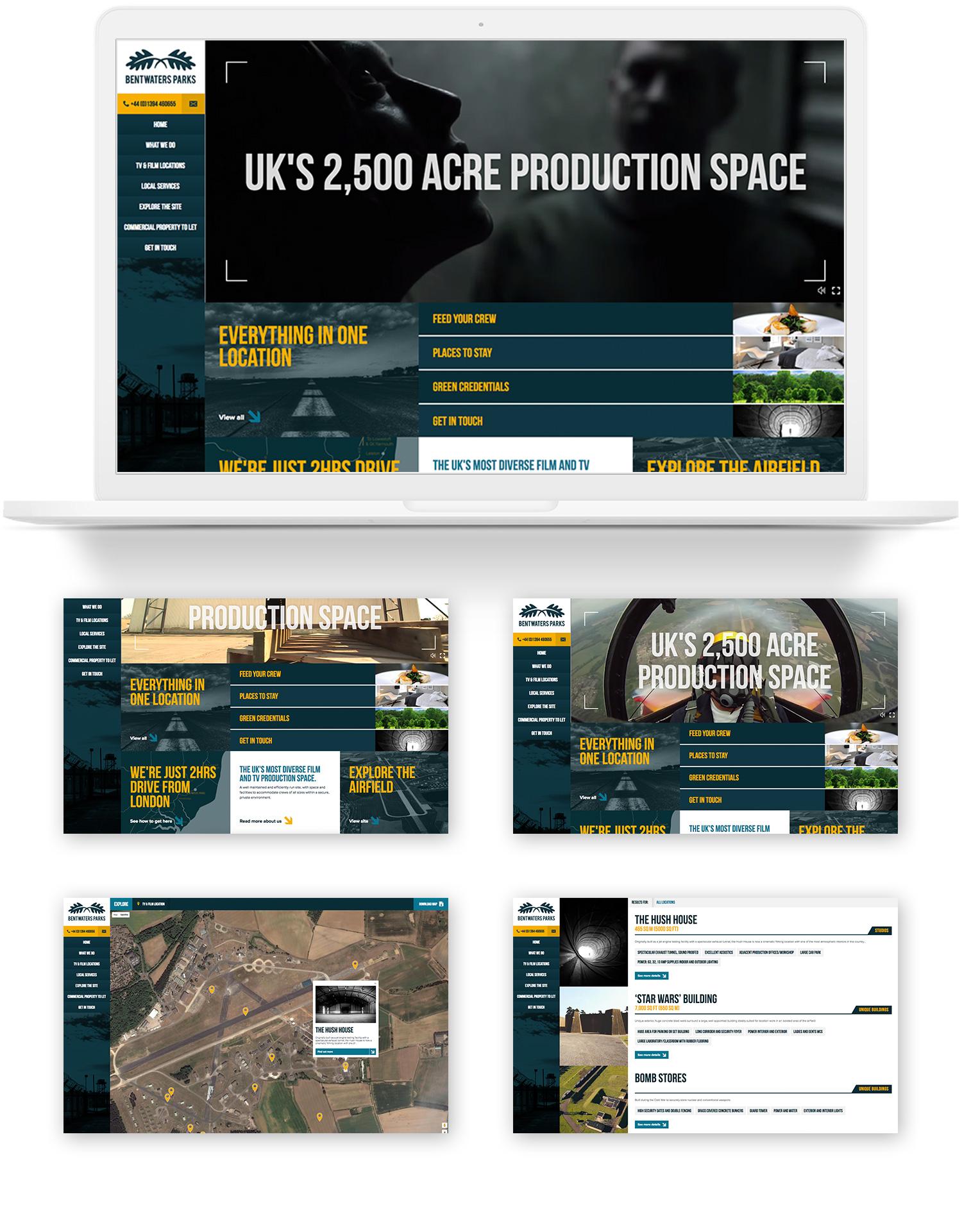 Bentwaters Parks website