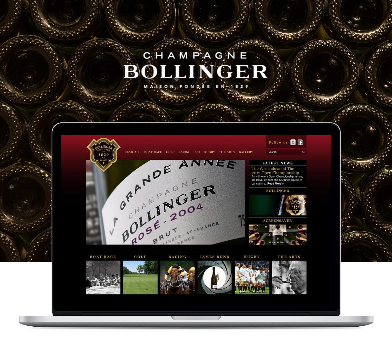 Bollinger website