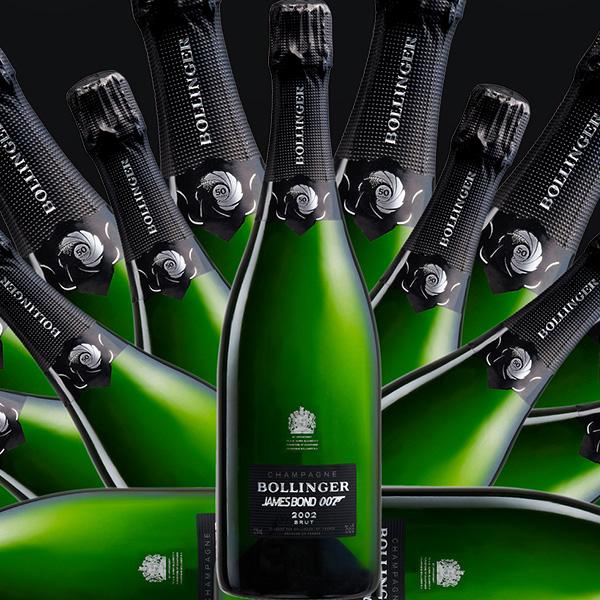 Bollinger bottles