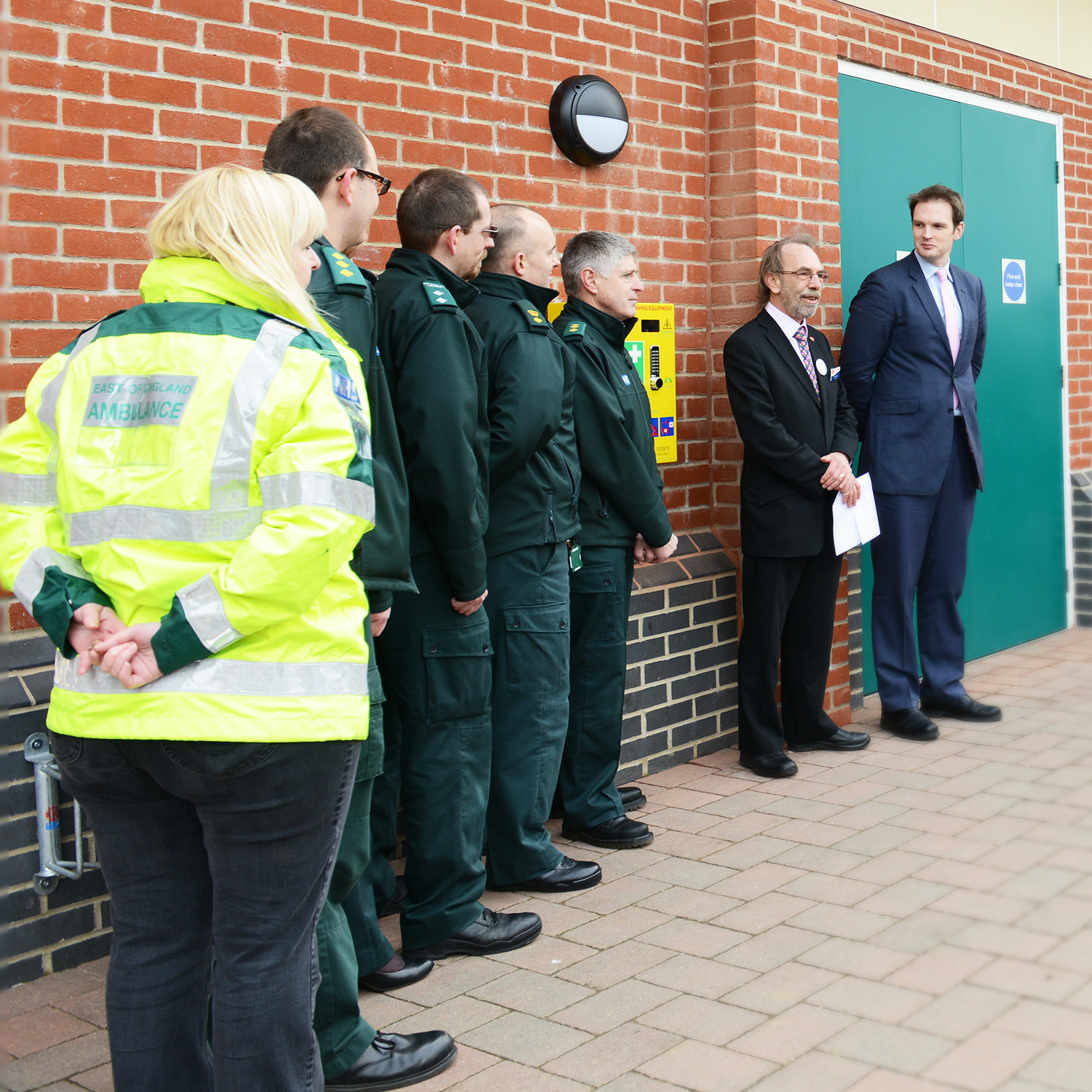 Co-op Every Minute Counts Defibrillator unveiling