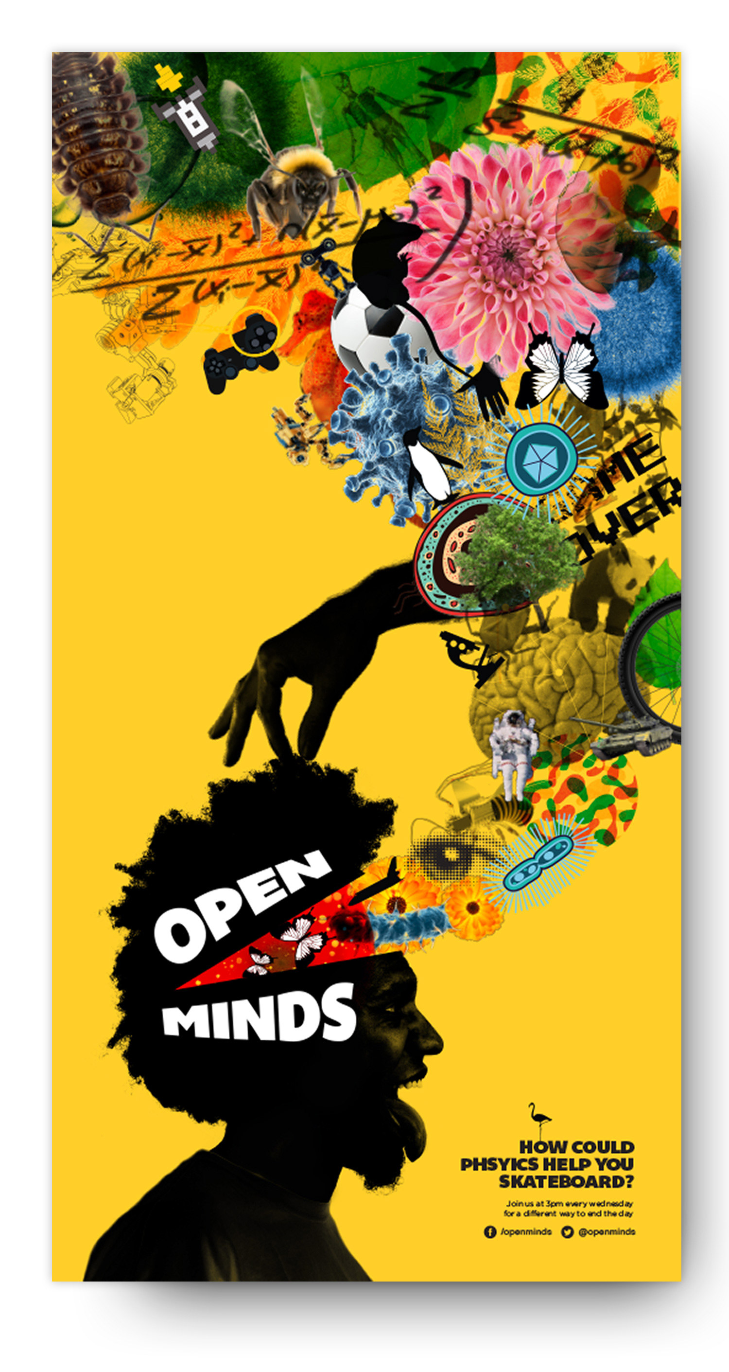 Open Minds long poster