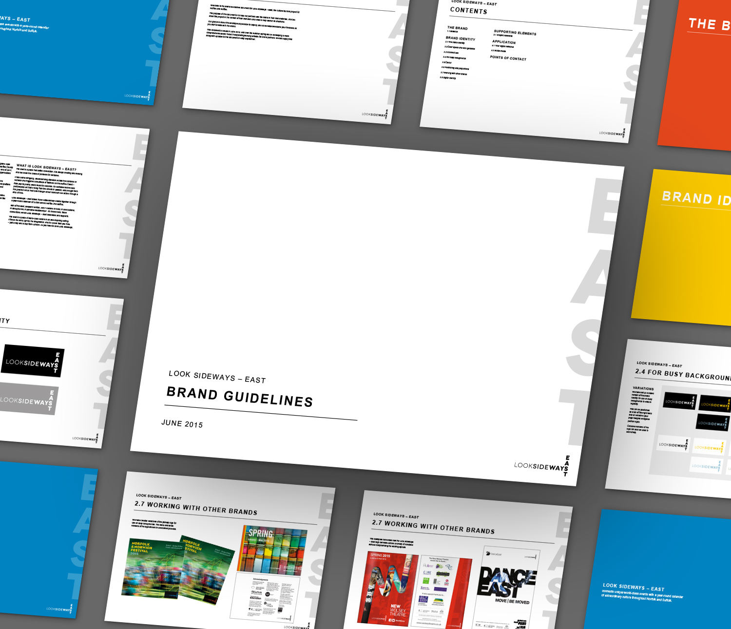 LookSideways - East brand guidelines