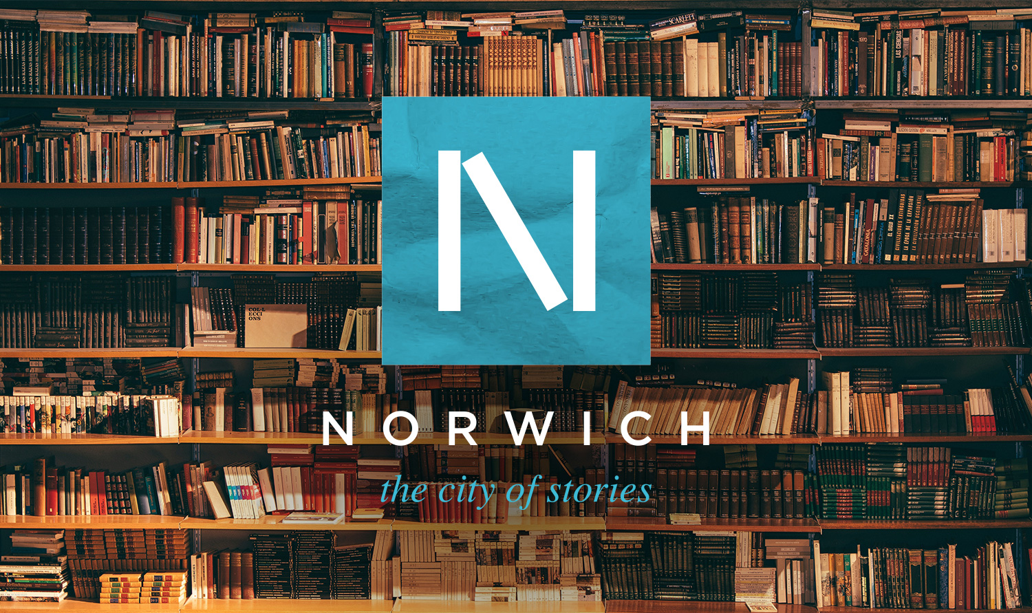 Norwich City of Stories logo