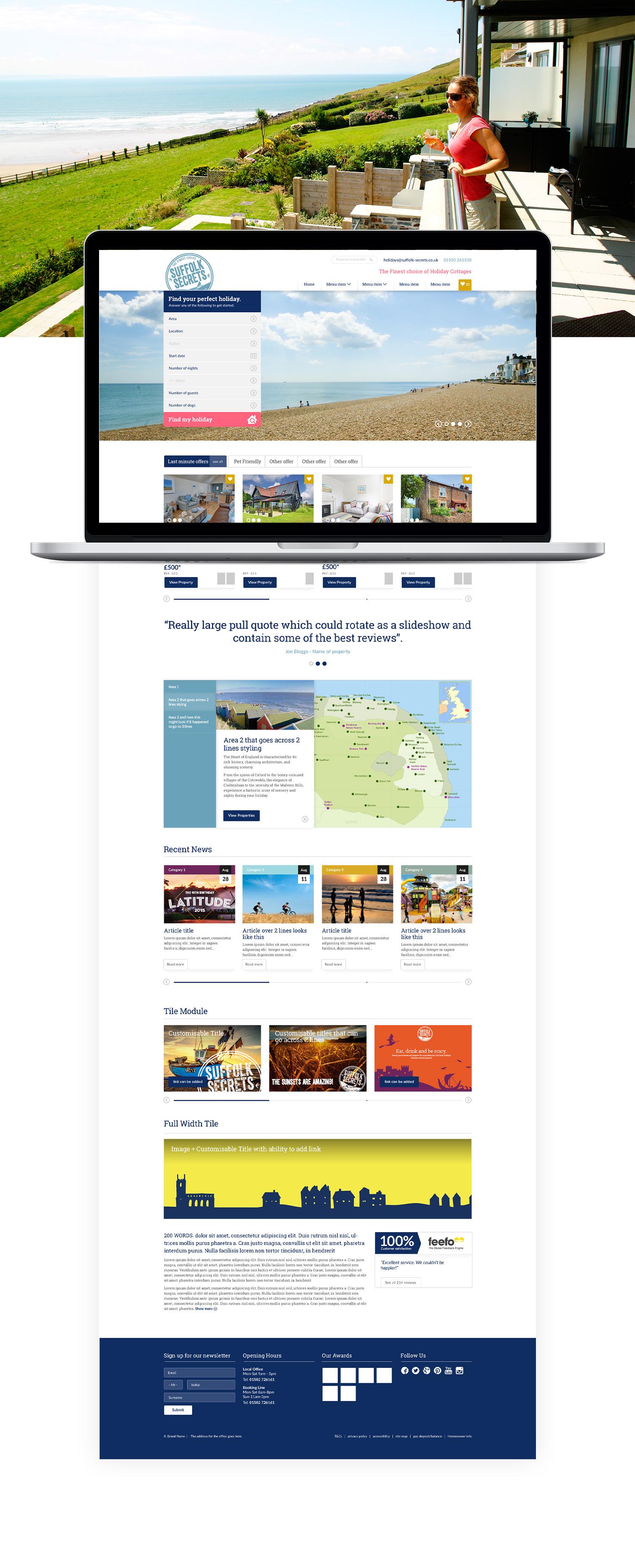 Original Cottages homepage