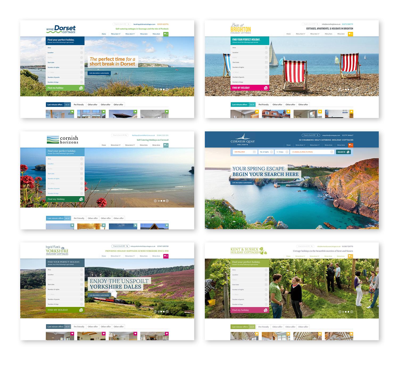 Original Cottages webpages