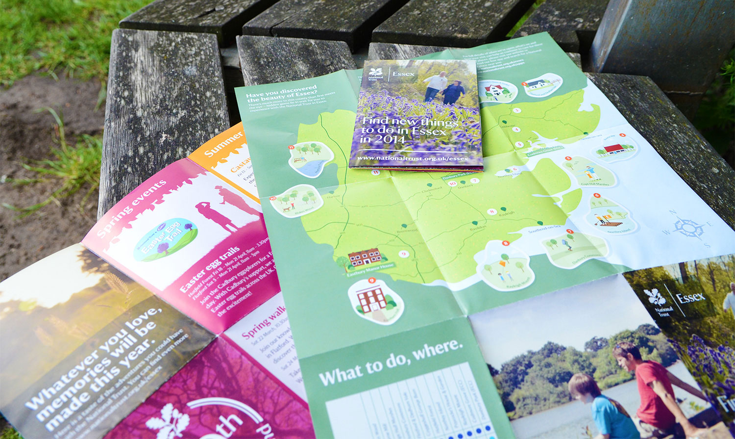 National Trust leaflets