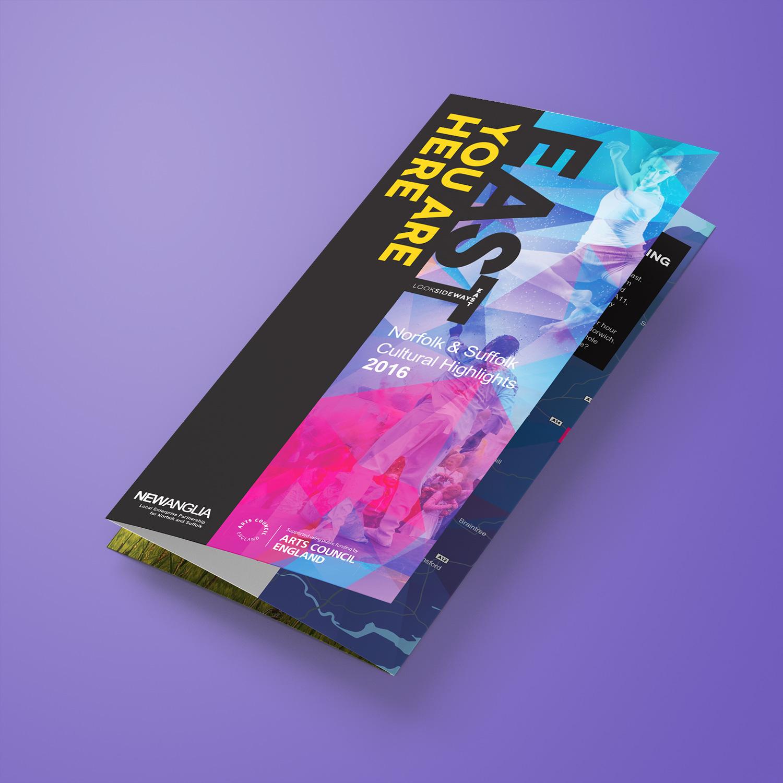 Look Sideways - Cultural Highlights leaflet