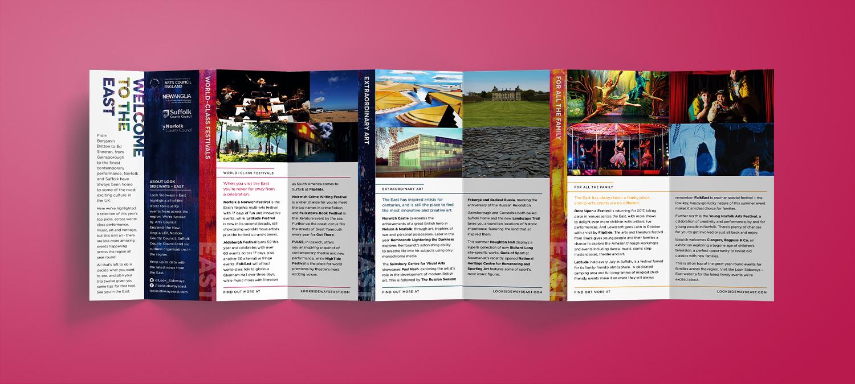 Look Sideways - East leaflet foldout