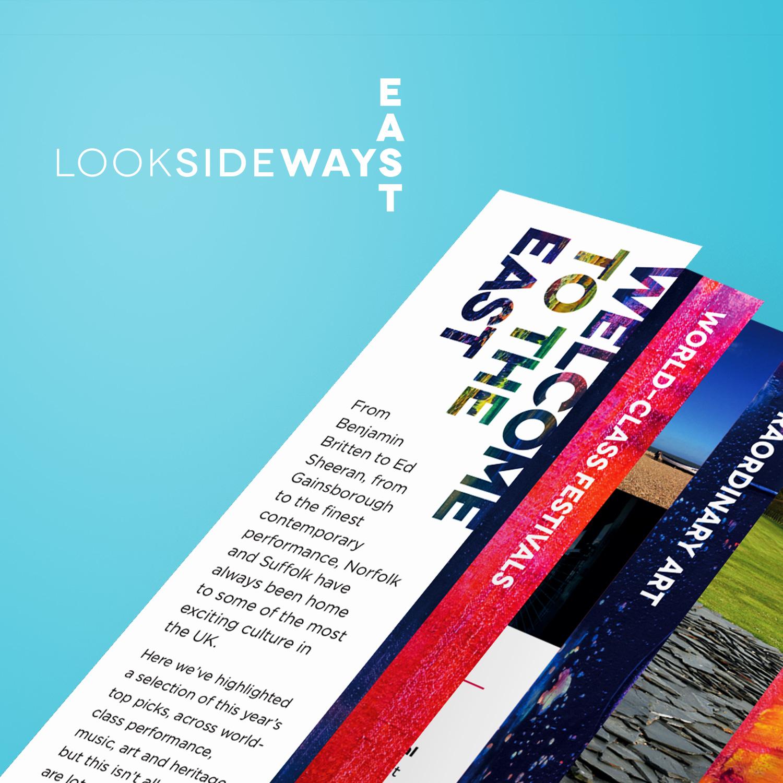 Look Sideways - East leaflet
