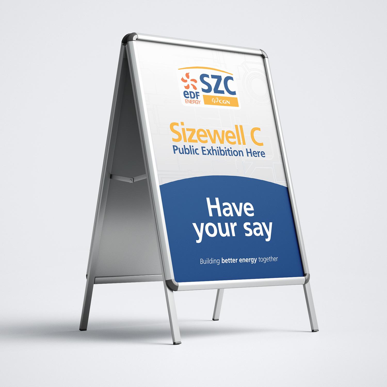 EDF Sizewell C consultation A board