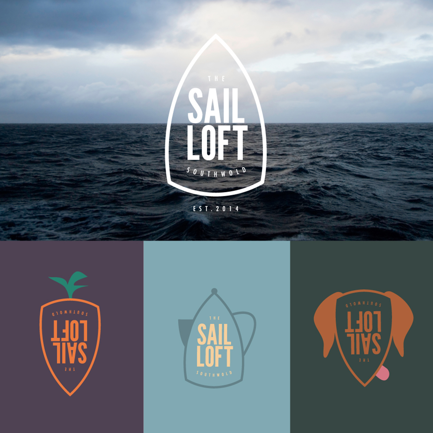 Sail Loft logo and applications