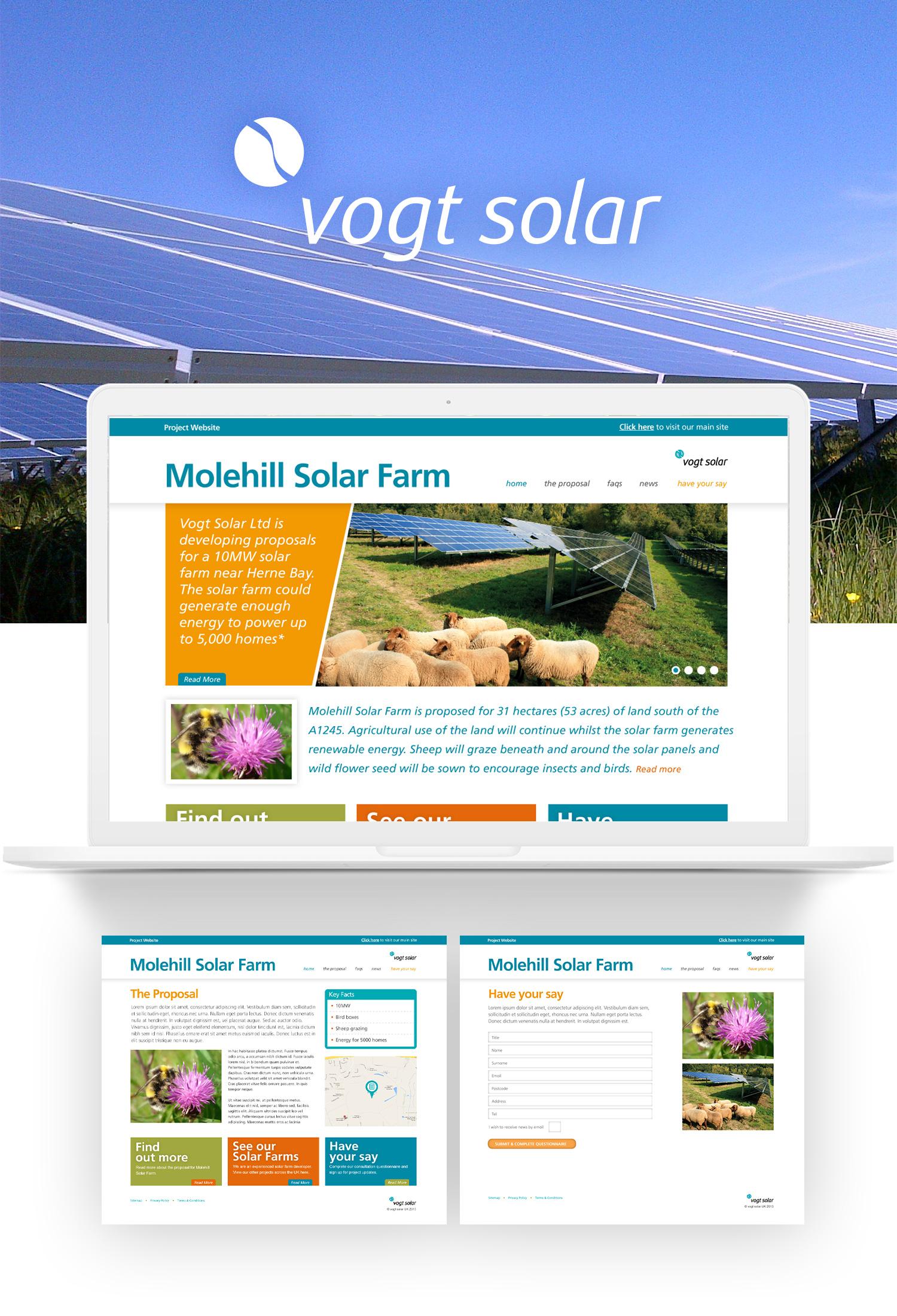 Vogt Solar website