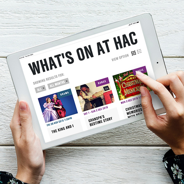 Haverhill Arts Centre website