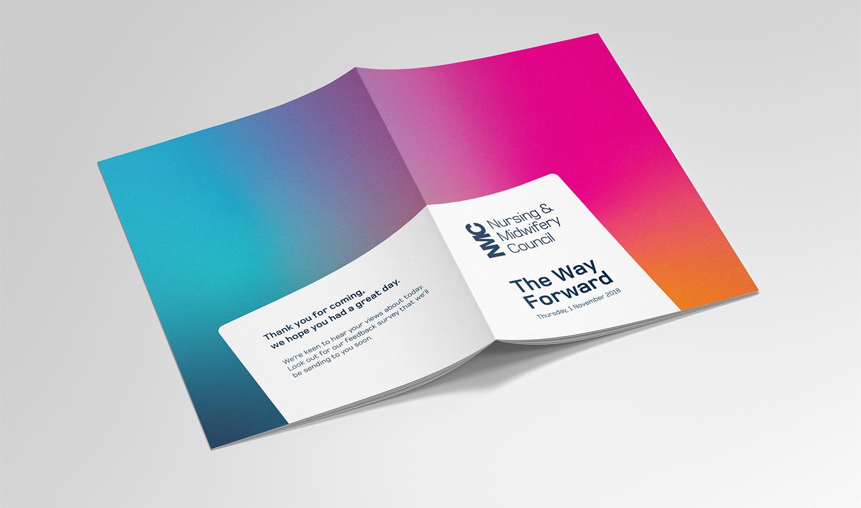 NMC Staff Conference brochure cover