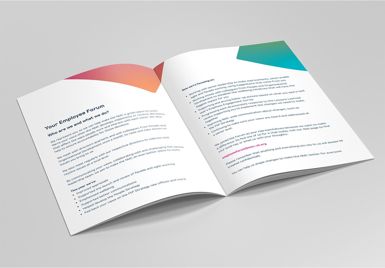 NMC Staff Conference brochure