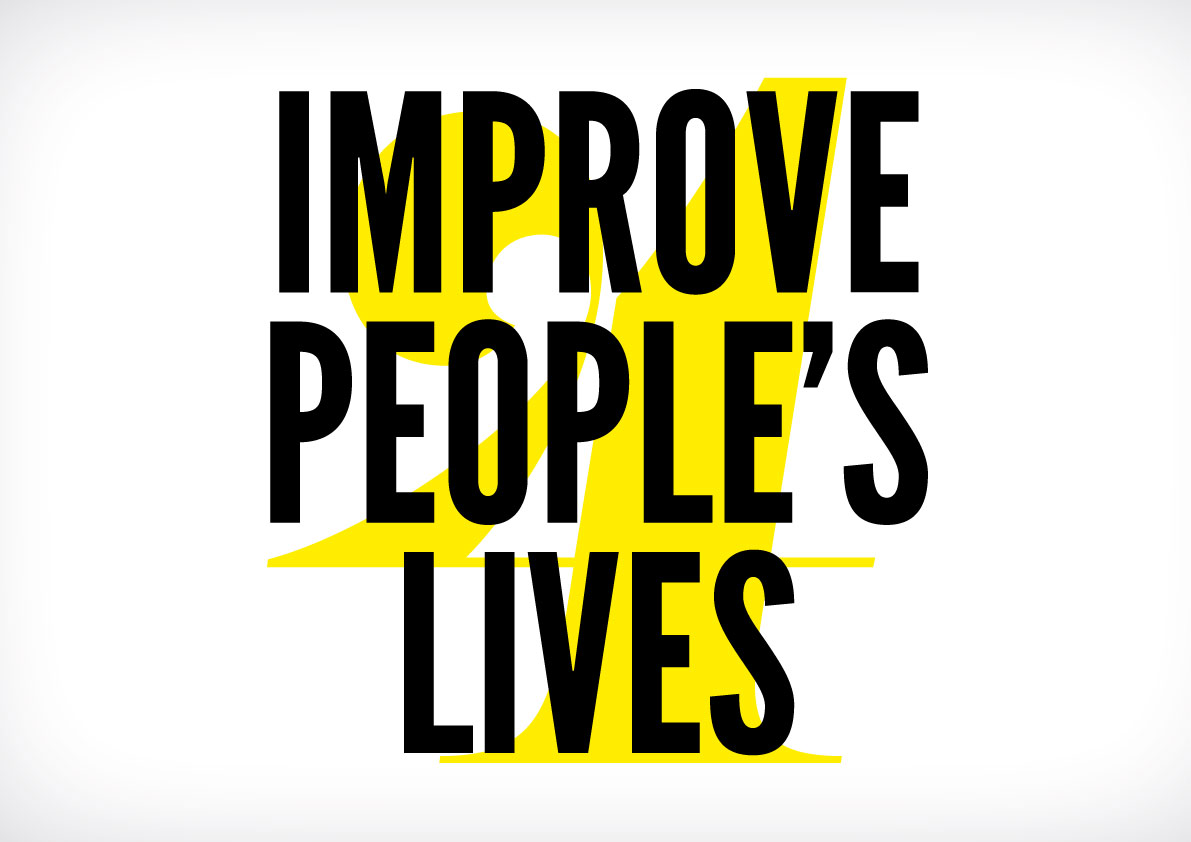 Improve People's Lives