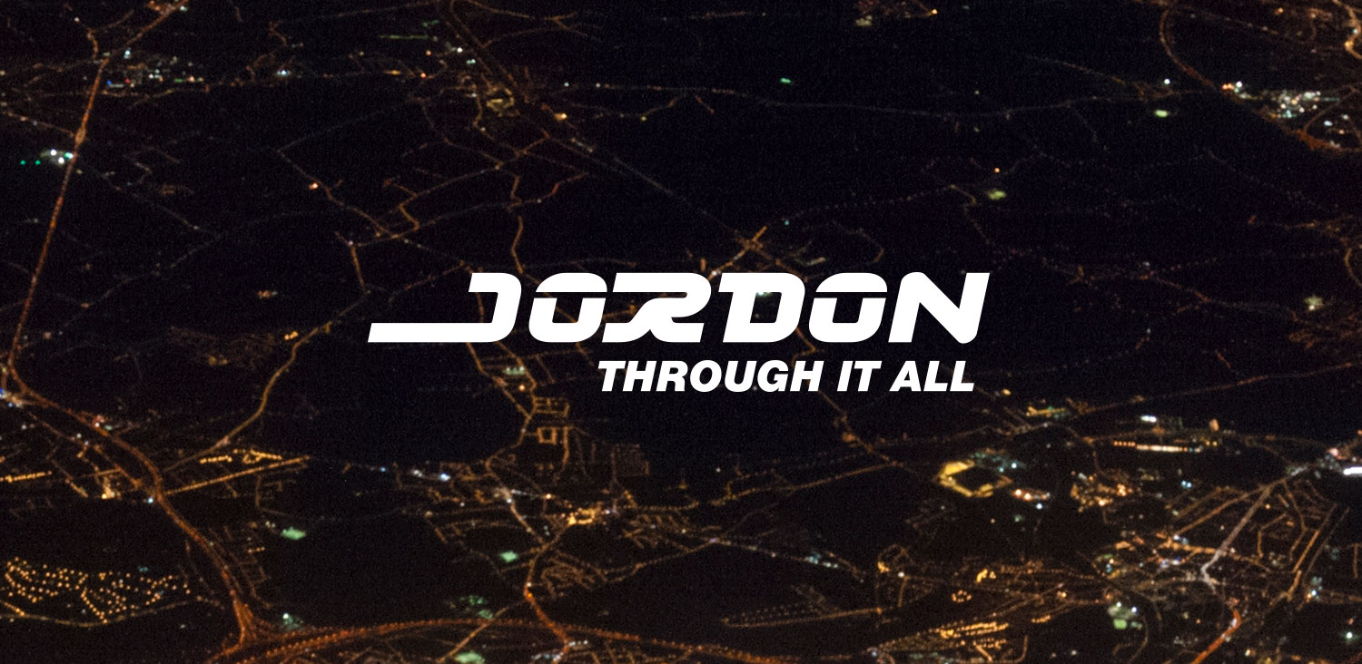 Jordon logo night