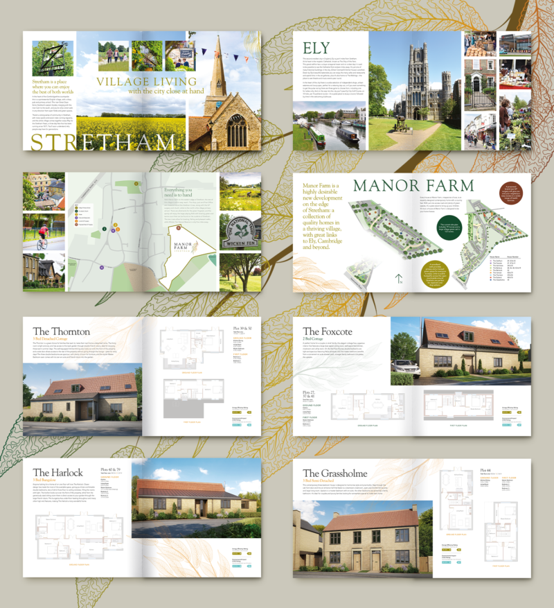 Manor Farm Brochure inside pages