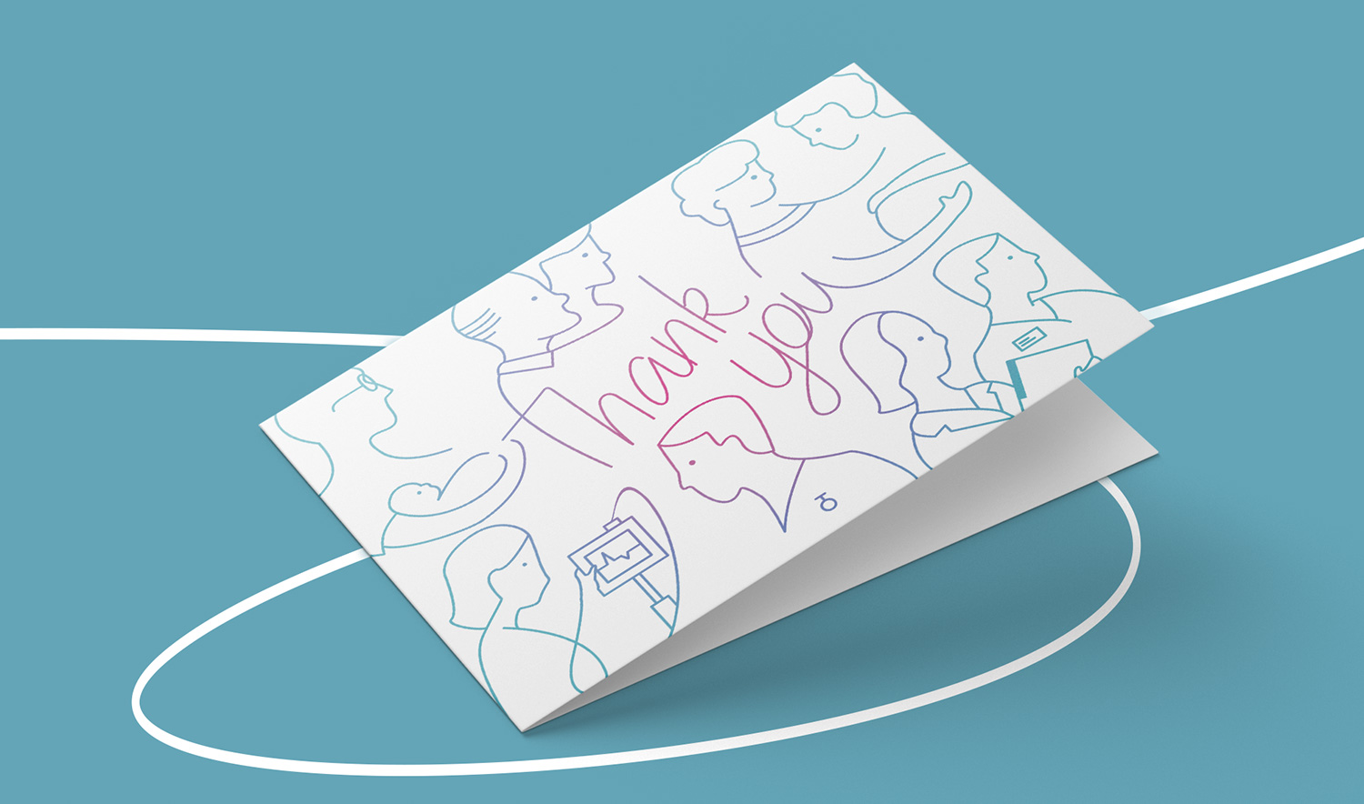 NMC Thank You card