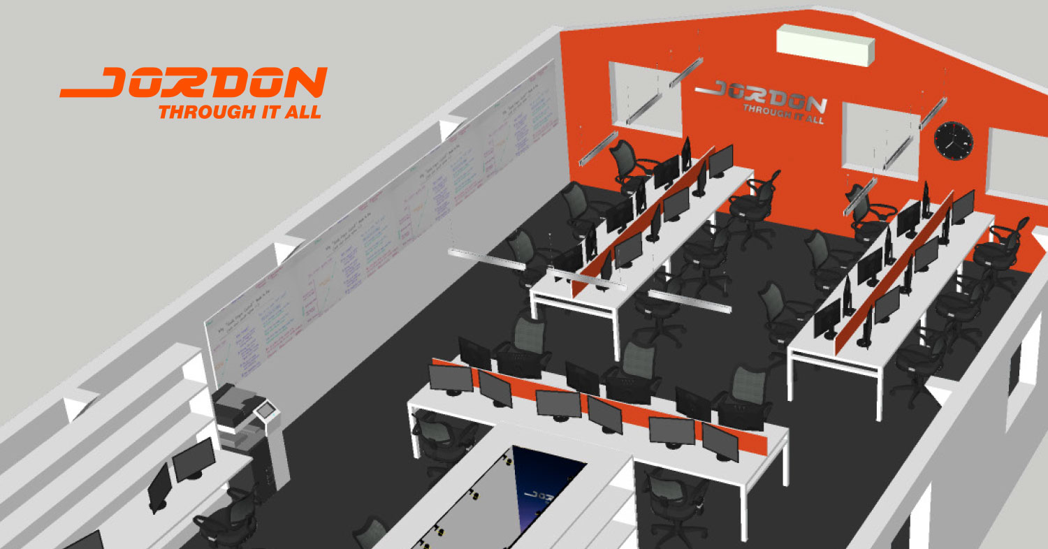 Jordon office design