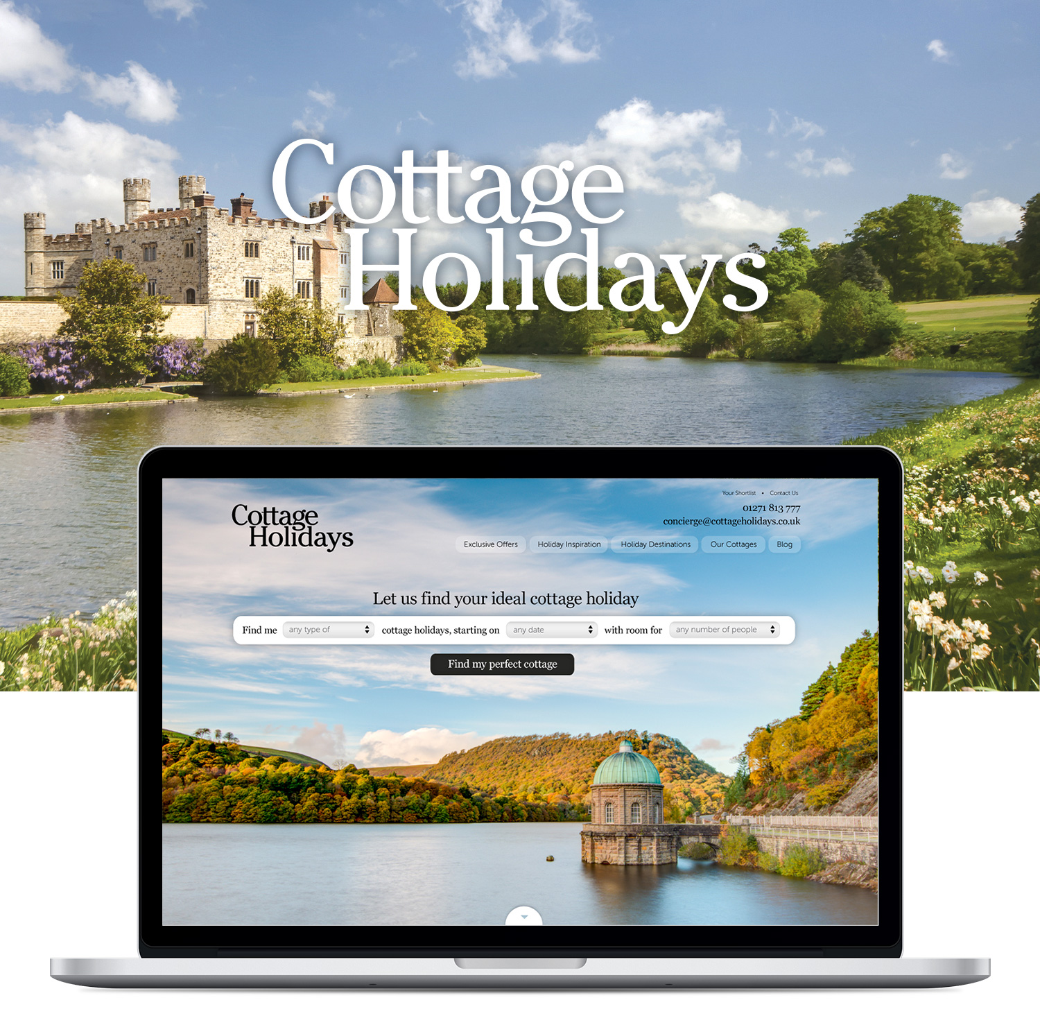 Cottage Holidays homepage