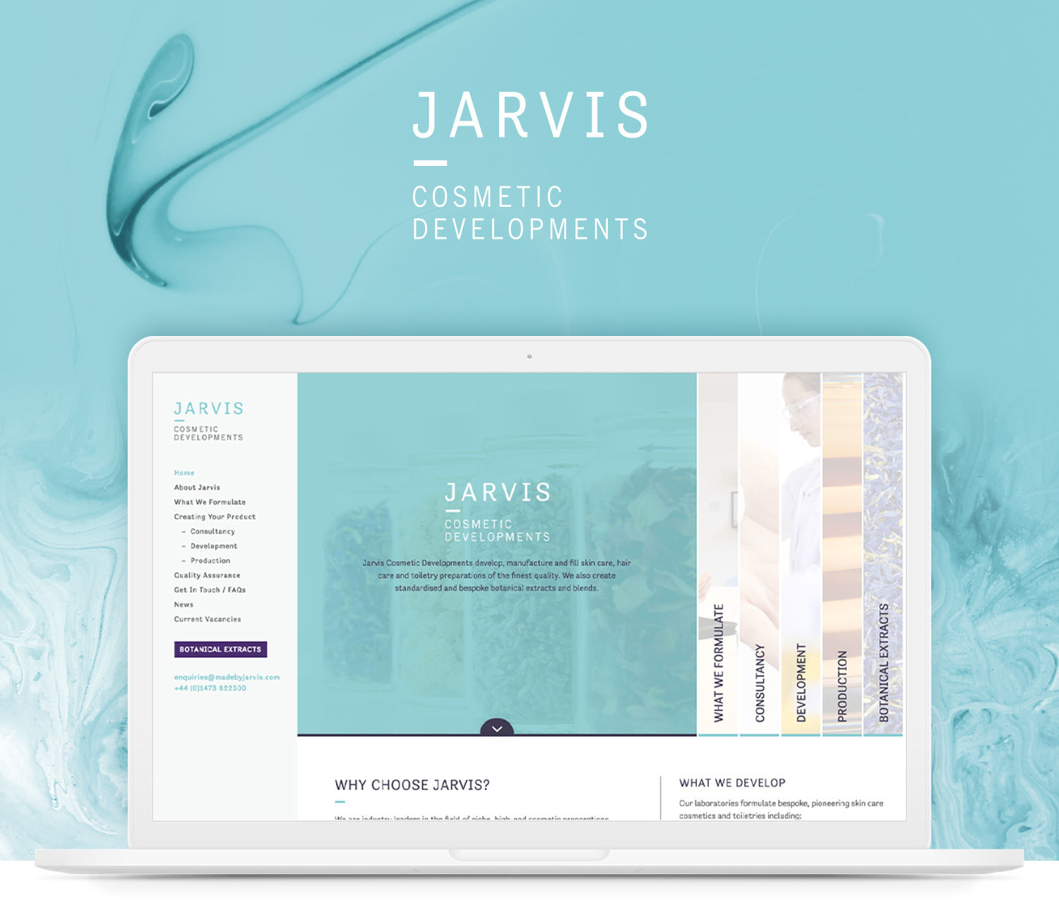 Jarvis website