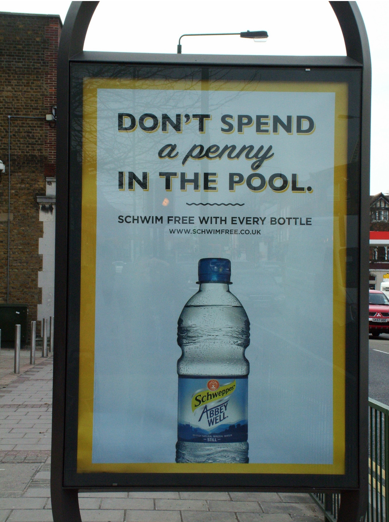 Schweppes Don't Spend A Penny In The Pool
