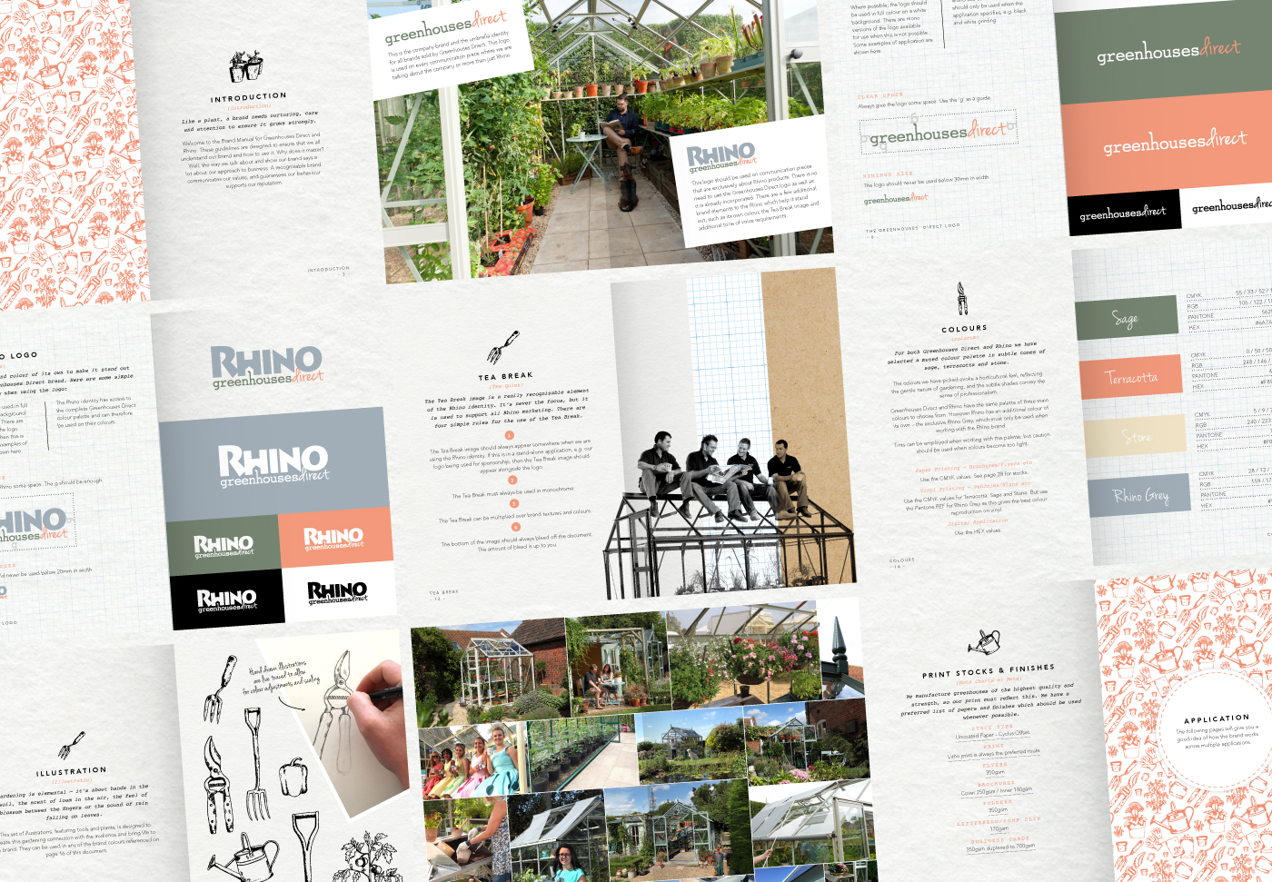 Greenhouses Direct brand guidelines