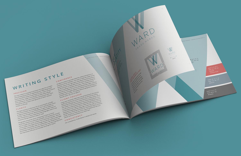 Ward Trademarks brand guidelines 2
