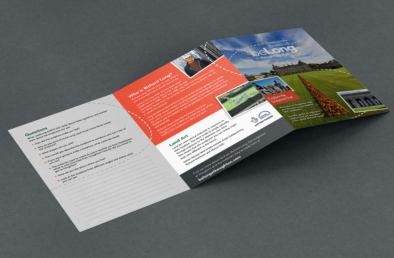 BeLong at Houghton fold out leaflet