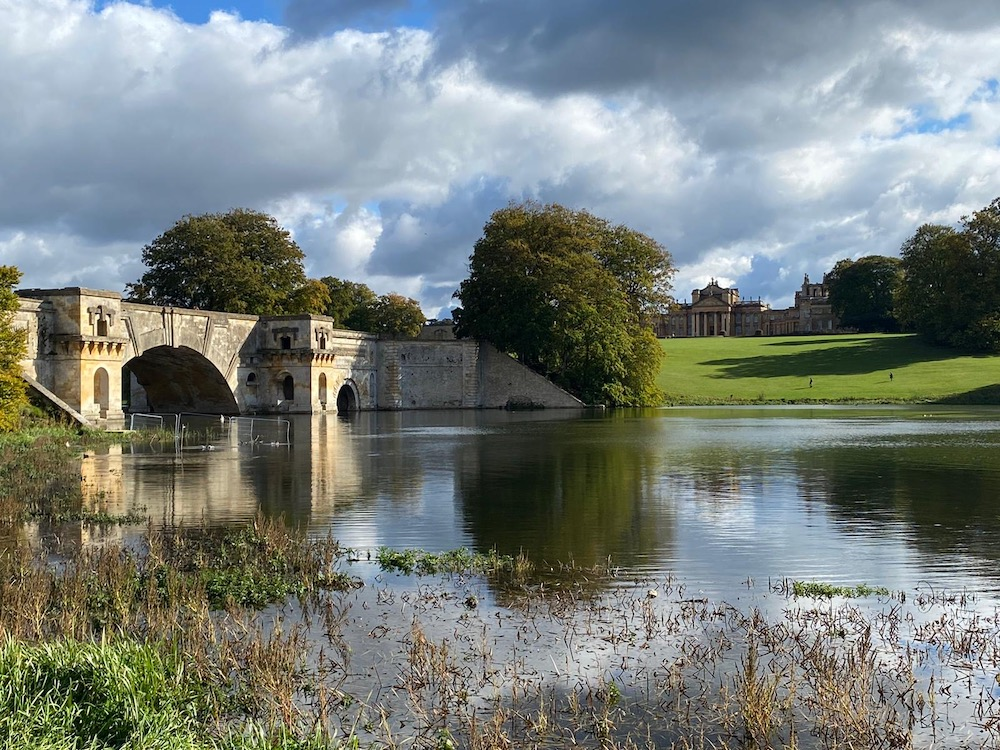 River at Blenheim Palace