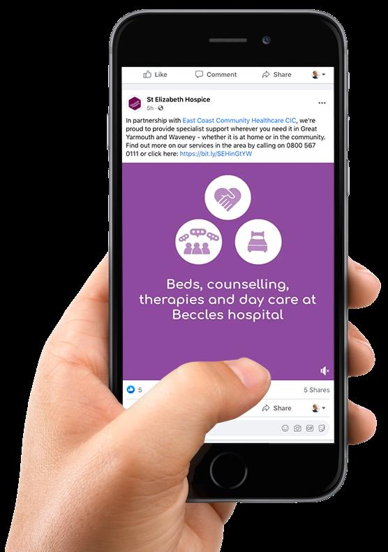 Hospice mobile screen