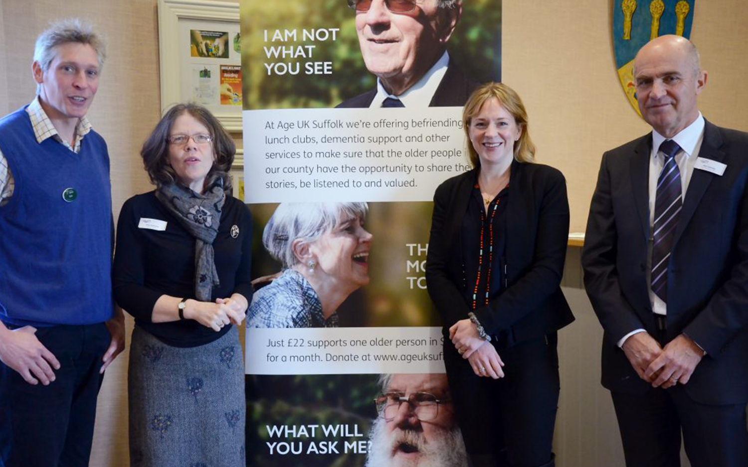 Age UK Suffolk Campaign Launch