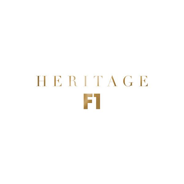 Heritage F1 Logo white