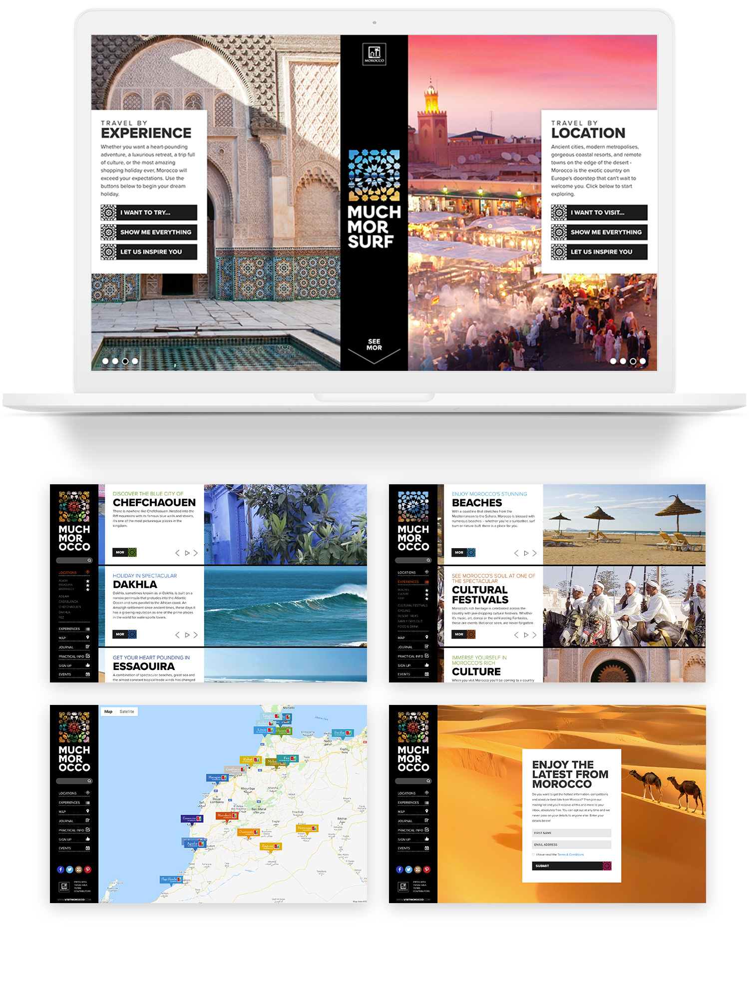 MuchMorocco webpages