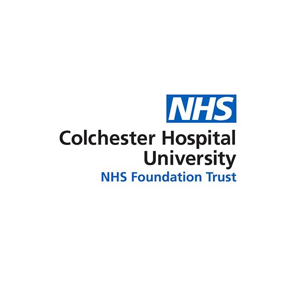 NHS Colchester Hospital University Logo