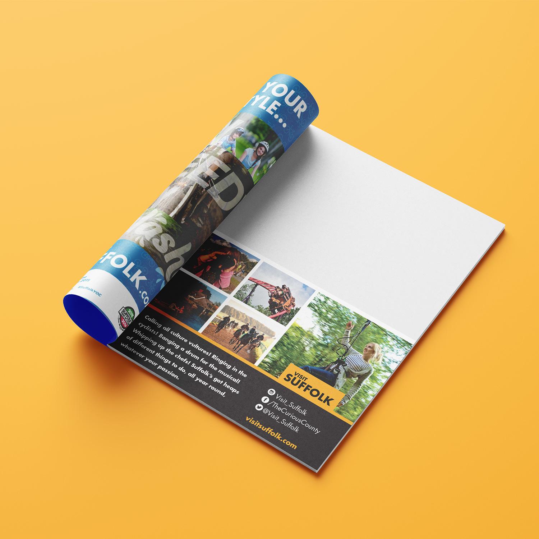 Visit Suffolk print advert 2