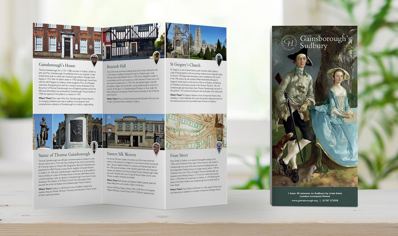 Gainsborough's House leaflet