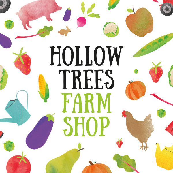 Hollow Trees farm shop tile