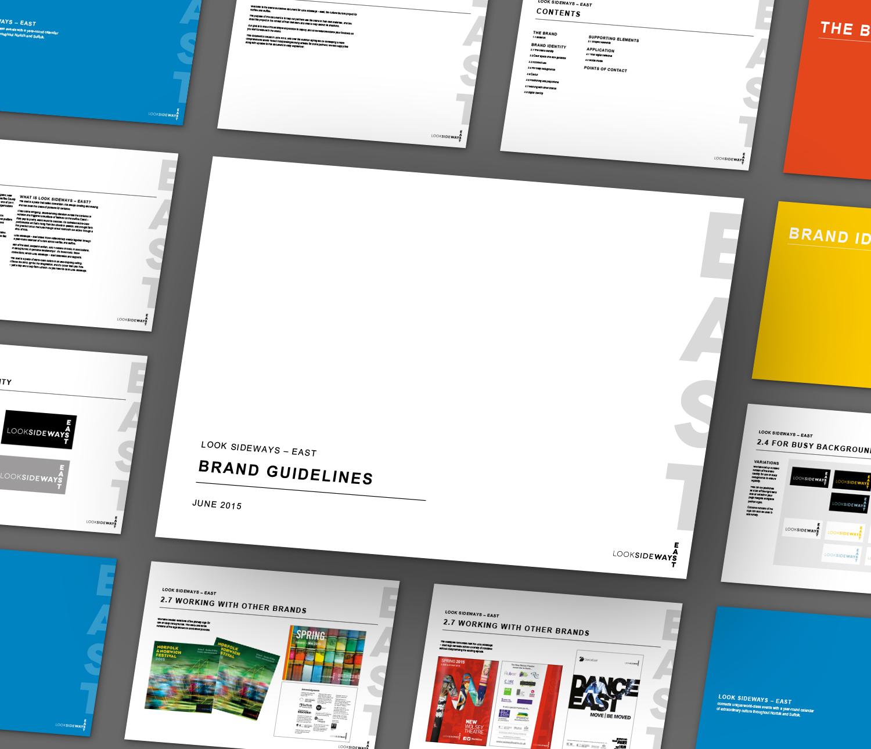 LookSideways - East brand guidelines